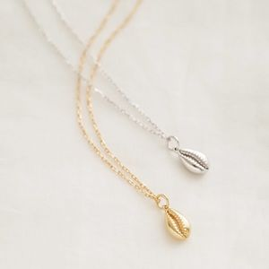 Petite Cowrie Shell Necklace